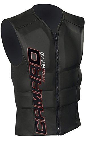Camaro Armour Vest 3.0 Prallschutzweste Black/Red XXL 56