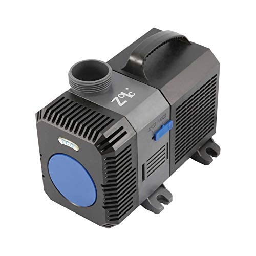 ZOIC Water Submersible Aquarium Pump 110 Volts, 16 Foot Power Cord, Fish Tanks,Garden Pool Fountain Pumps (80W //2641 GPH)