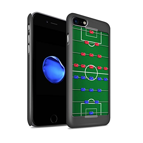 Stuff4 Matte Hard Back Snap-On Phone Case for Apple iPhone SE 2020 / Table Football/Foosball Design/Games Collection