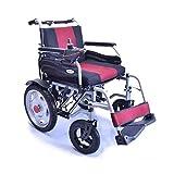 HDGZ Best Wheelchair 2019 Nueva Silla de Ruedas eléctrica Plegable Silla de Ruedas motorizada de Potencia eléctrica Ligera y Resistente