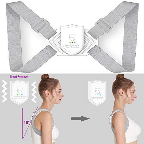 Babacom Haltungskorrektur Rücken Geradehalter zur Haltungskorrektur Intelligenter Sensor Jugendliche für 8-16 Jahre Verhinderung der Myopie