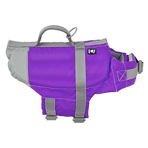 Hurtta Schwimmweste für Hunde, Violett, Größe 0 für Hunde, Größe XS
