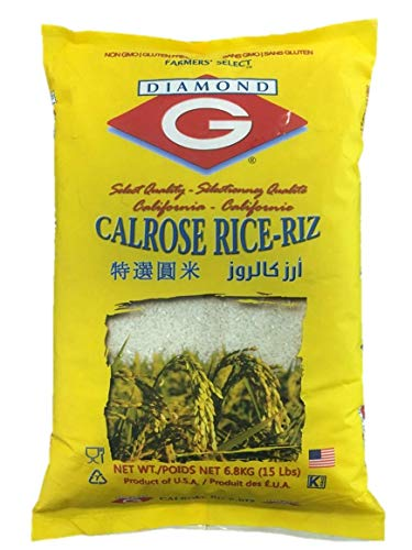 Diamond G Calrose Rice 6.8kg