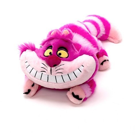 Disney Cheshire Peluche chat Taille M
