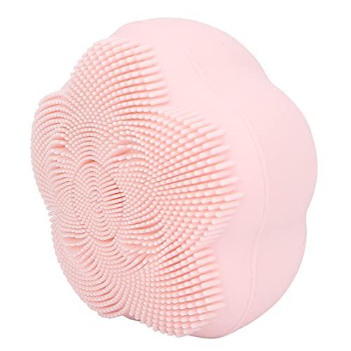 Épurateur de visage, brosse faciale de conception de bords arrondis imperméables de silicone IPX6 pour nettoyer la peau du visage