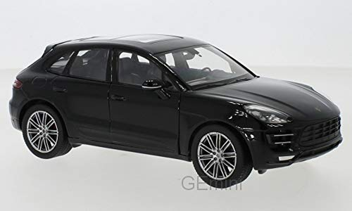 NEX Models Welly Porsche Macan Turbo 1:24 schwarz Fertigmodell