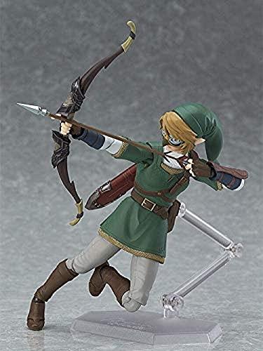 319 Anime The Legend of Zelda Link: Twilight Princess 320 DX Edición Figura de acción de PVC Colección Modelo Juguetes Figma Anime Figura Figura de acción