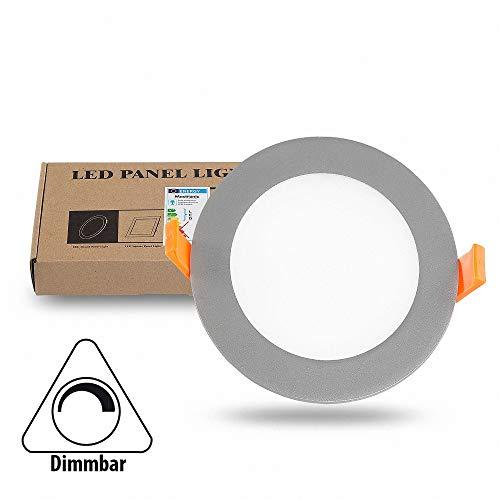 LED panneau encastré TAVO rond blanc chaud dimmable 12W 880LM (S) Ø 135 mm