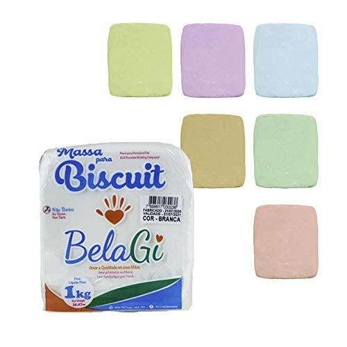Porcellana fredda – Confezione da 6 colori assortiti + 1 bianco – 6 x 100 g + 1 kg – Pasta modellabile con asciugatura all'aria.