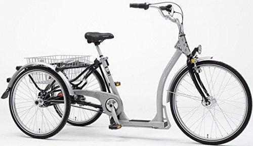 PFAU-TEC Dreirad Alluminio 7-Gang SRAM RBN, Rahmenhöhe 45 cm