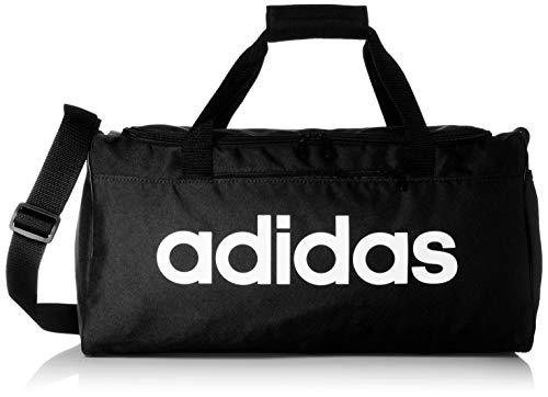 adidas Lin Core Duf S Gym Bag, Unisex Adulto, Black/Black/White, NS