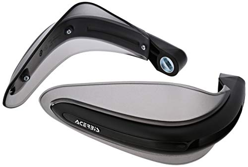 Acerbis 2140450001 Dual Road Black Handguard by