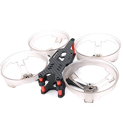 Brushless Tiny Whoop Frame Drone 98mm with Ducted Propeller Guard for cinewhoop Micro Drone Quadcopter