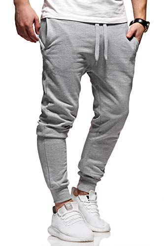Ombre-Eight Herren Jogginghose Trainingshose Sporthose T-410 [Grau, M]