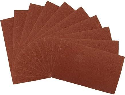 3 x 80er Silverline 545363 Schleifbl/ätter 115 x 230 mm gelocht Satz 2 x 60er 2 x 240er-K/örnung 10-tlg 120er