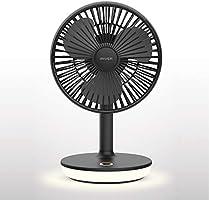 STORM MONSTER T ミニ扇風機 小型扇風機 卓上扇風機 サーキュレーター おしゃれ モバイルバッテリー オフィス 野外 サラリーマン OL 14時間使用 4000mAh
