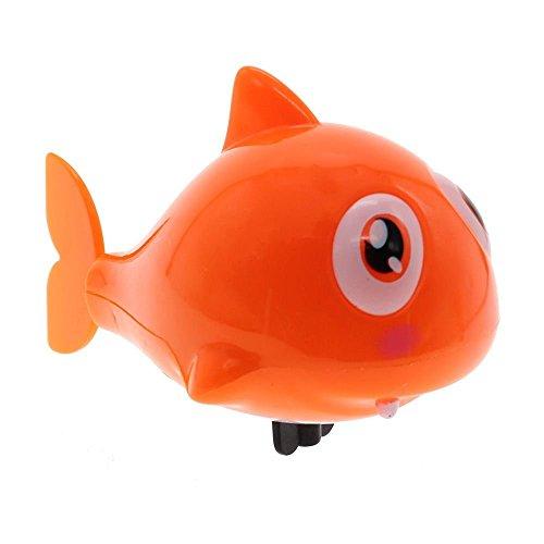 VANKER Mini Flottant Jouet de Bain Requin pour L'heure du Bain Couleur Aléatoire