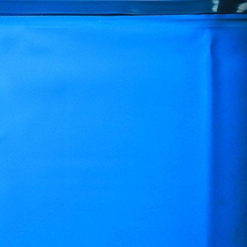 Gre FPR451 - Liner para Piscinas Redondas, Diámetro de 460 cm, Altura de 120 cm, Color Azul