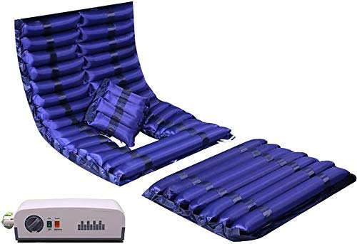 Möbeldekoration Expansionskontroll-Matratzenauflage mit Pumpe Anti-Dekubitus-Luftdruckmatratze Wechselluftdruckmatratze für medizinisches Bett - Druckgeschwür- und Druckgeschwürentlastung - Enthält