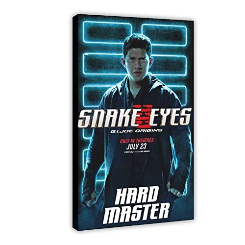 Action Movie Snake Eyes G.I. Joe Origins 7 poster su tela da parete, decorazione per soggiorno, camera da letto, 60 x 90 cm