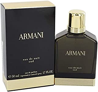 Giòrgio Armáni Eåu Dë Nüit Oüd Colognë For Men 1.7 oz Eau De Parfum Spray + FREE Shower Gel