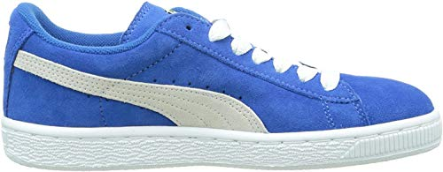 Puma Unisex-Kinder Suede Jr Low-Top, Blau, 36 EU