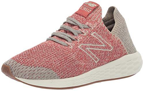 New Balance Men's Cruz V2 Sockfit Fresh Foam Running Shoes, raw Clay/Stoneware/Earth, 9.5 D US