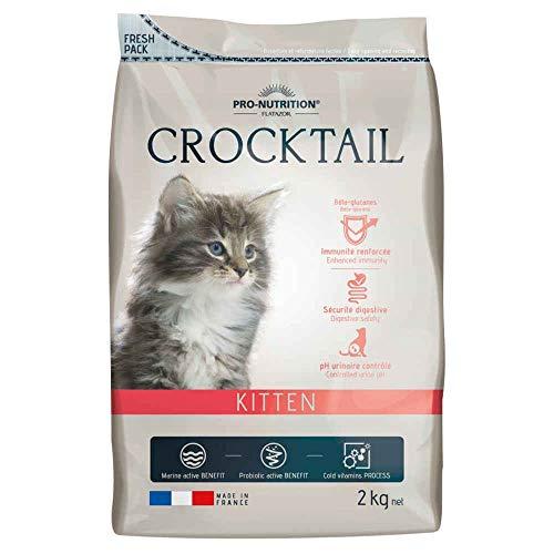 Flatazor - Croquettes CROCKTAIL Kitten pour Chaton - 2Kg