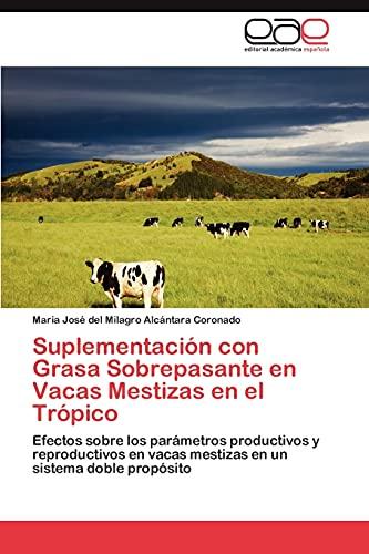 Suplementación con Grasa Sobrepasante en Vacas Mestizas en el Trópico