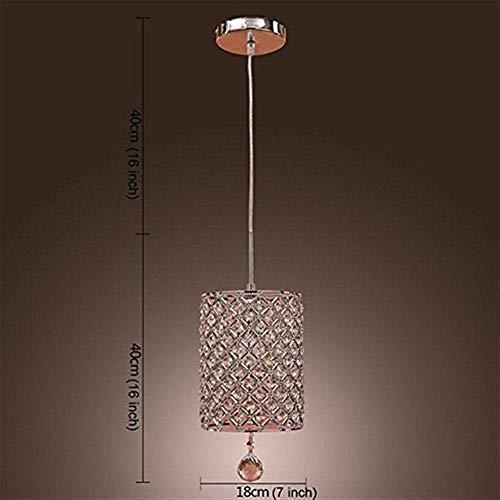 CKQ-KQ Hanglampen Modern Simple K9 kristallen kroonluchters, Woonkamer Slaapkamer Retro Fashion plafondlamp E14 for Living Room Slaapkamer Restaurant Bar Cafe