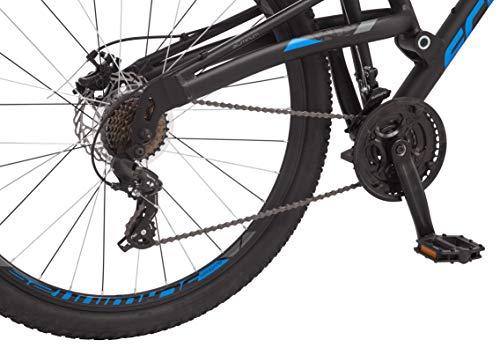 Product Image 6: Schwinn S29 Mens Mountain Bike, 29-Inch Wheels, 18-Inch/Medium Aluminum Frame, Dual-Suspension, Mechanical Disc Brakes, Matte Black