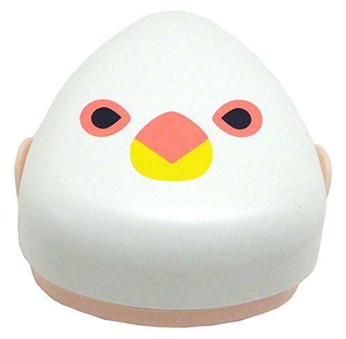 日本製 HAKOYA たつみや KOTORITACHI おにぎりBOX M 白文鳥 52690