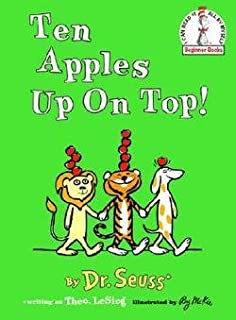 Dr. Seuss: Ten Apples Up on Top! (Hardcover); 1961 Edition