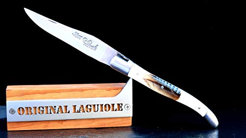 Taschenmesser Laguiole du Barry, kunstharz Feder, brosse, double platines