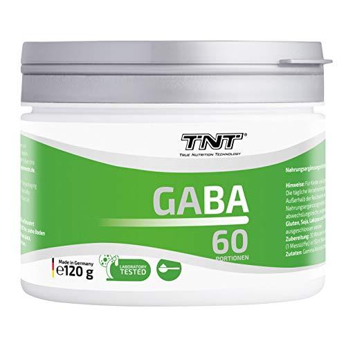 TNT – Besser schlafen mit 120g GABA Pulver – 100% reines Gaba Pulver – Gegen Schlaf-Probleme