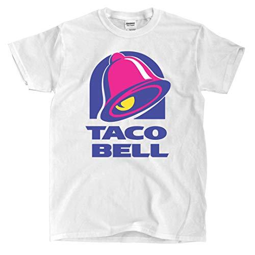 Taco Bell Logo - White T-Shirt (S)