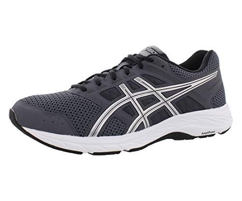 ASICS Men's Gel-Contend 5 Running Shoes, 10.5M, Carrier Grey/Silver