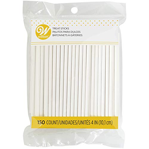Wilton 4-Inch Lollipop Sticks, 150/ Pack