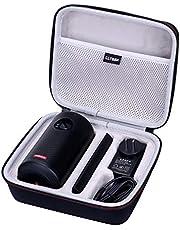 LTGEM EVA twarde etui na mgławicę Anker II lub Anker Capsule Max Smart Mini projektor podróżna ochronna torba do przechowywania