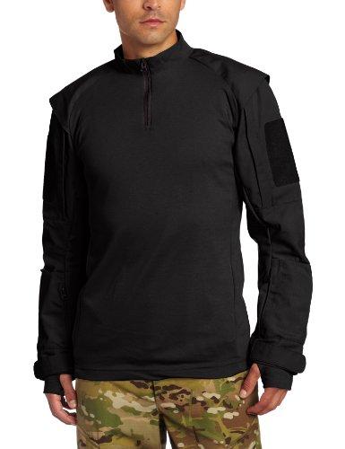 Propper Men's TAC.U Combat Shirt, Black, X-Small Regular