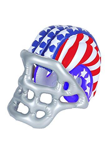 Unbekannt Aufblasbarer American Football Helm - 50cm x 33cm - Vertrieb durch ABAV