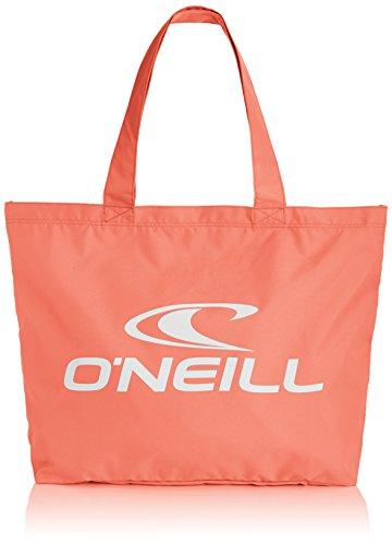 O'Neill Damen Strandtasche AC Logo Shopper, Fusion Coral, 13 x 57 x 42 cm, 30 Liter