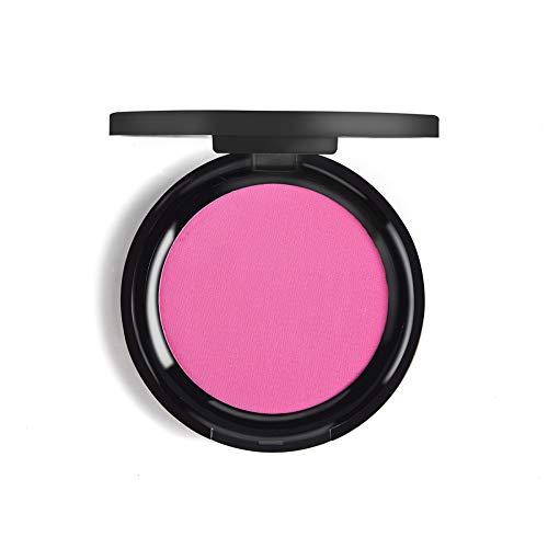 Luckine Face Blush, longue durée sans huile poudre libre Blush Cosmétiques Blush Maquillage Blush, Imperméable à l'eau anti-taches Éclaircir Brillant Blush