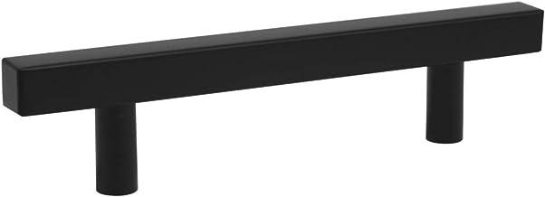 10 Pack Hole Center 128mm T Bar Kitchen Cabinet Handle roestvrij staal Black Wardrobe lade trekt Wardrobe Deurknoppen zcaq...