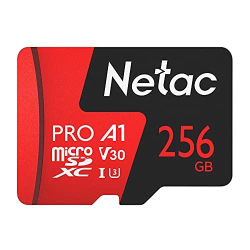 Cartão Memória Micro SDXC 256GB Extreme Pro 100MBs Netac