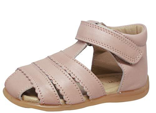 pom pom Sandalen 6392 Lauflernschuhe Pink Rose, Schuhgröße:EUR 19