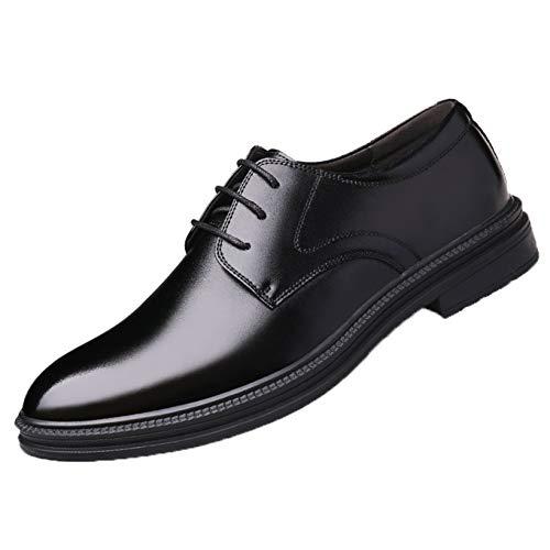 Zapatos Formales para Hombre, Zapatos Derby de tacón bajo de Cuero Suave,...