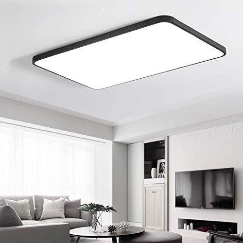 QCKDQ plafondlamp, 60 x 40 cm, moderne plafondlamp, 36 W, LED-inbouwlamp, hal, slaapkamer, hal, woonkamer