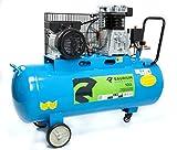 Saurium 37176 Compresor de Aire Eléctrico Monofásico 100L 3HP-Saurium-37176