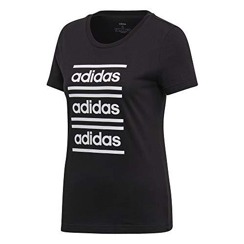 adidas Celebrate The 90S, T-Shirts Donna, Black/White, XL